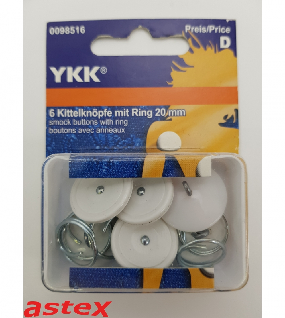 Kittelknöpfe YKK Stück/Päckchen
