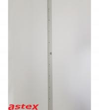 Lineal aus Leichtmetall  100cm