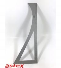 Reversewinkel aus Leichtmetall  60cm
